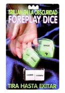 Glow In The Dark Foreplay Dice Spanish Version